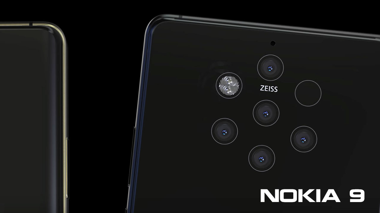 Amazon bán case Nokia 9 có 6 lỗ, xác nhận phía sau có 5 camera