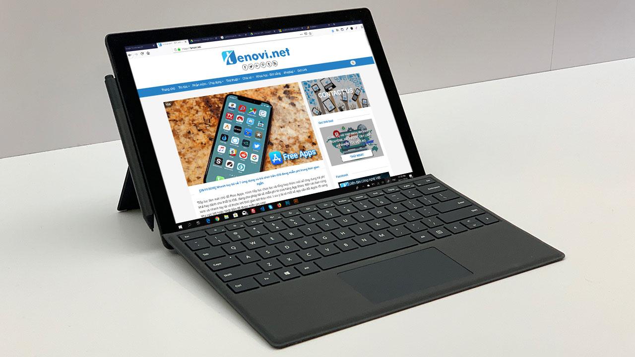 Microsoft Surface Pro 7 sẽ có bàn phím mỏng hơn đáng kể so với Surface Pro 6