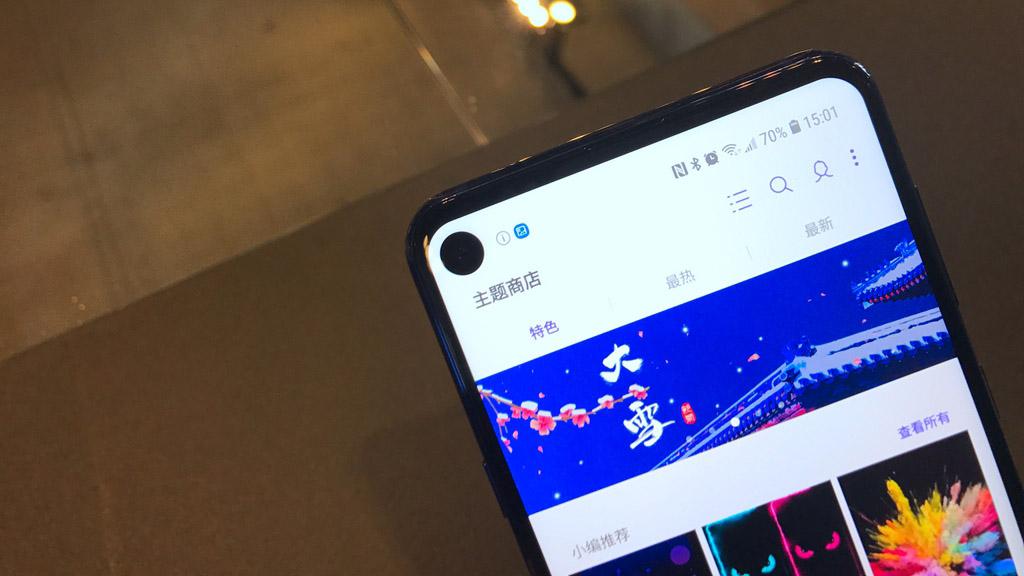 Samsung chính thức ra mắt Galaxy A8s: smartphone màn hình đục lỗ đầu tiên trên thế giới