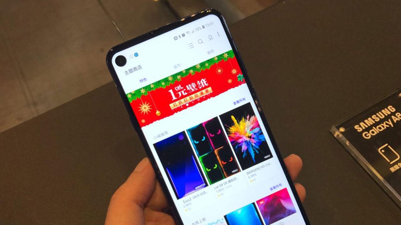 Samsung Galaxy A8s: Smartphone màn hình đục lỗ đầu tiên trên thế giới, chỉ 10 triệu đồng tại Trung Quốc