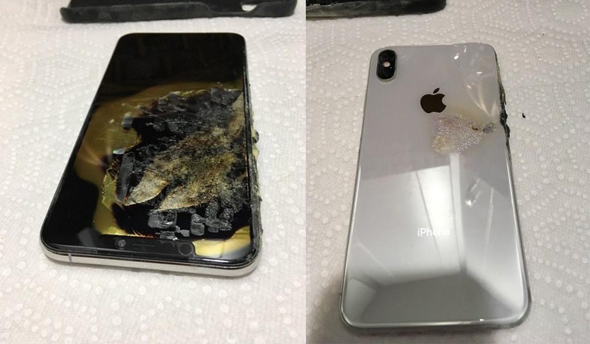 iPhone Xs Max mới mua chưa đầy một tháng đột nhiên bốc cháy khi đang để trong túi quần