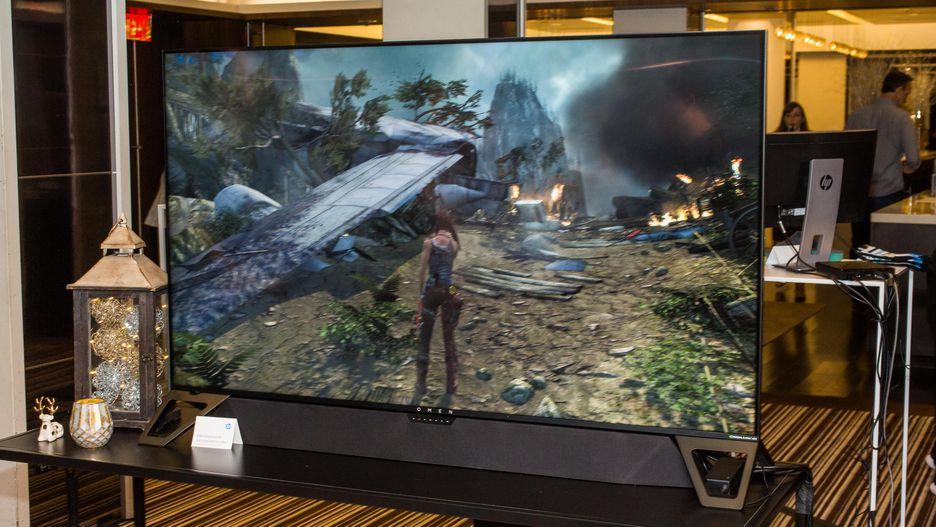 [CES 2019] HP ra mắt màn hình chơi game kích thước siêu khủng 64,5 inch với tên gọi Omen X Emperium 65, giá 5.000 USD