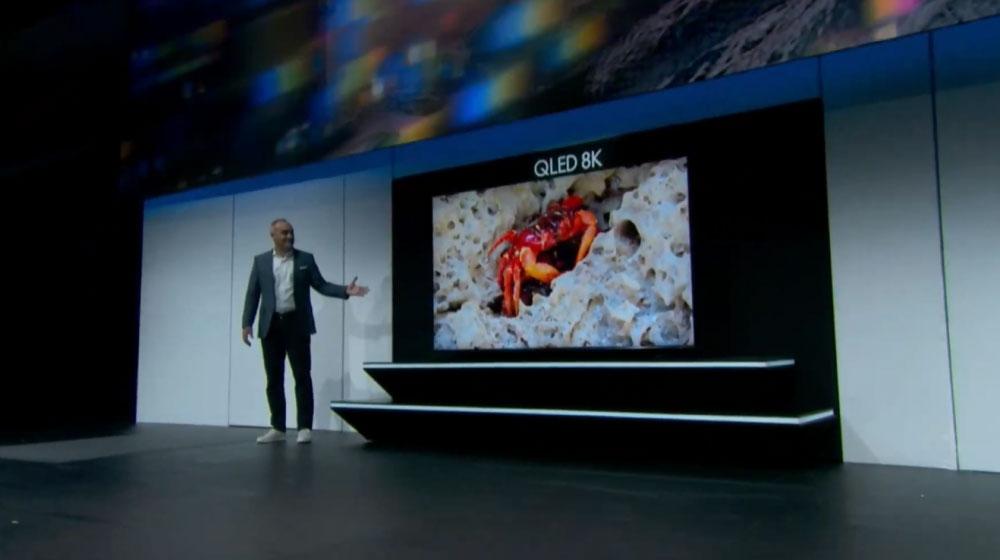 [CES 2019] Samsung ra mắt TV QLED 8K lớn nhất thế giới hiện nay, có thể nâng cấp mọi nội dung và xem Netflix với độ phân giải 8K