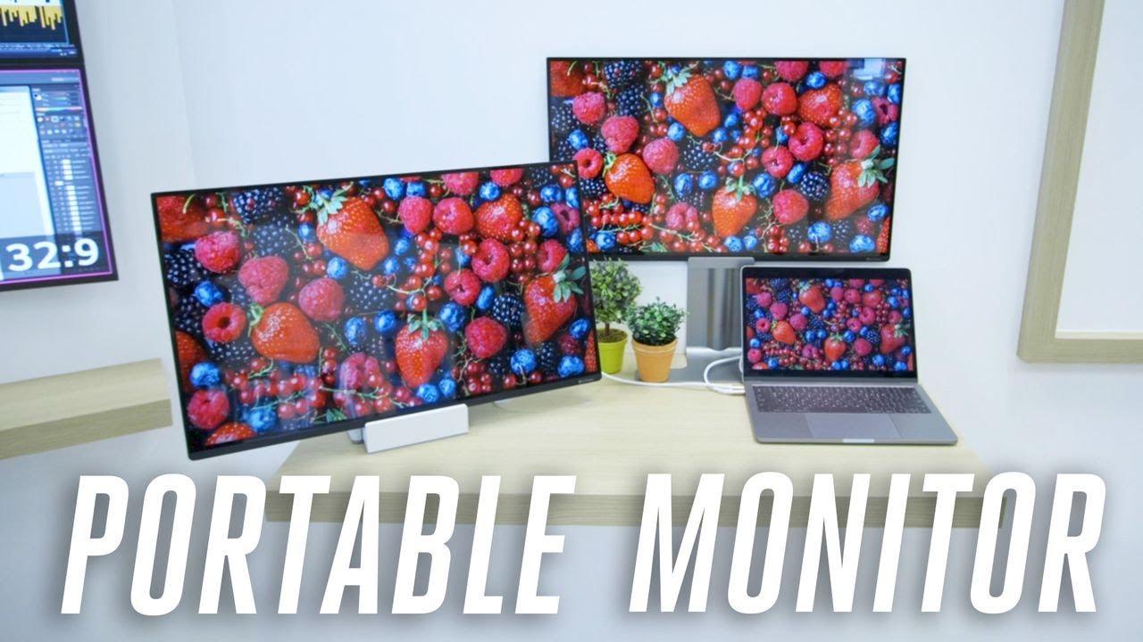[CES 2019] LG trình làng nguyên mẫu nguyên mẫu màn hình di động, kích thước 27 inch, cấp nguồn qua USB-C