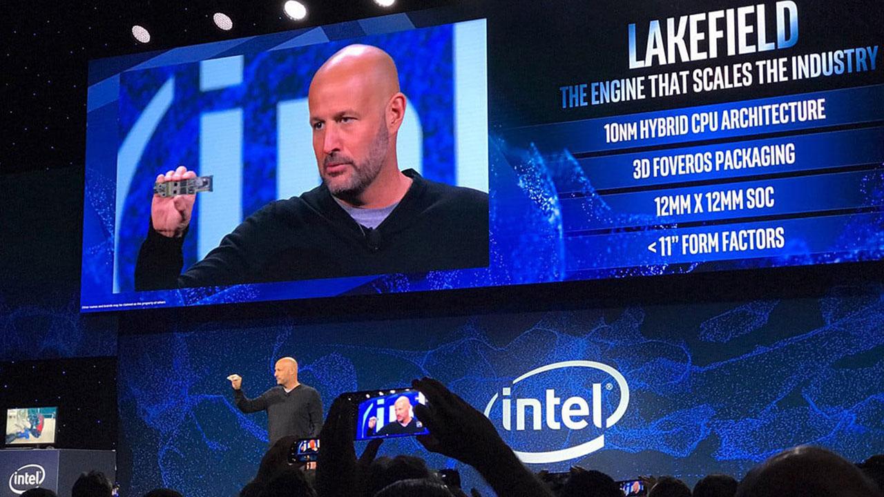 [CES 2019] Intel trình làng thiết kế đầu tiên của chip xử lý Lakefield dựa trên kiến trúc xếp chồng 3D