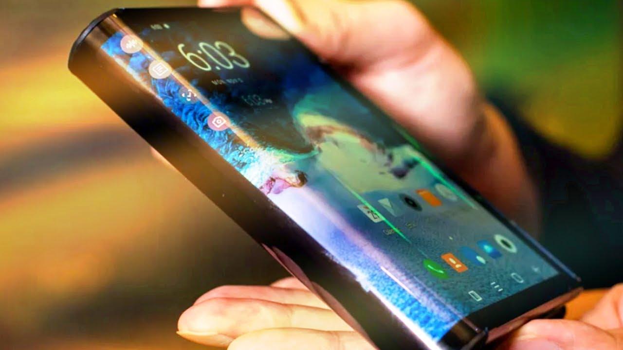 Smartphone màn hình gập Galaxy F của Samsung sẽ bị gãy nếu như gập lại hoàn toàn