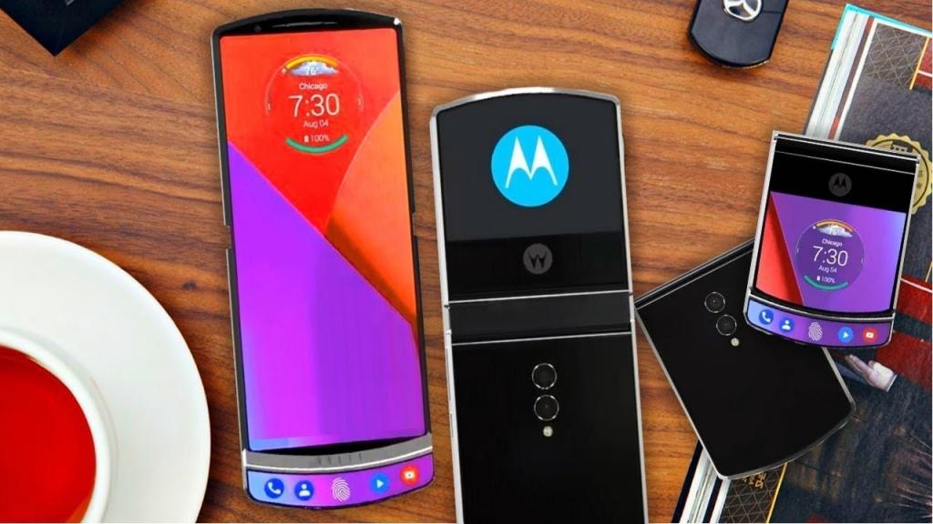 Motorola RAZR 2019 lộ thiết kế điện thoại vỏ sò siêu mỏng với màn hình gập lại được
