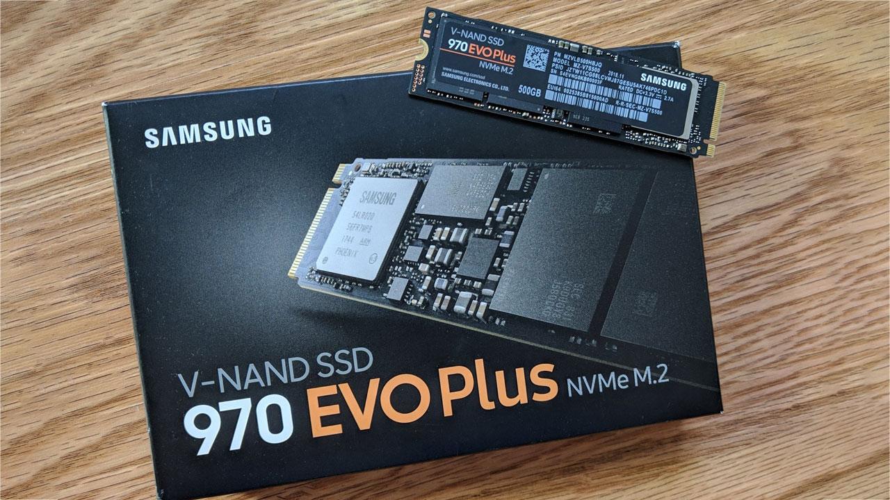 Samsung giới thiệu SSD NVMe 970 EVO Plus có tốc độ đọc lên tới 3.500 MB/giây
