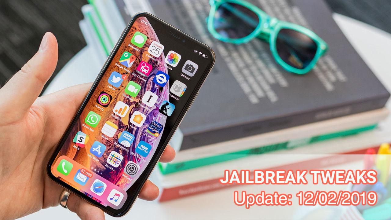 [12/02/2019] Tổng hợp một số tweak mới phát hành trong thời gian gần đây, dành cho thiết bị iOS đã jailbreak