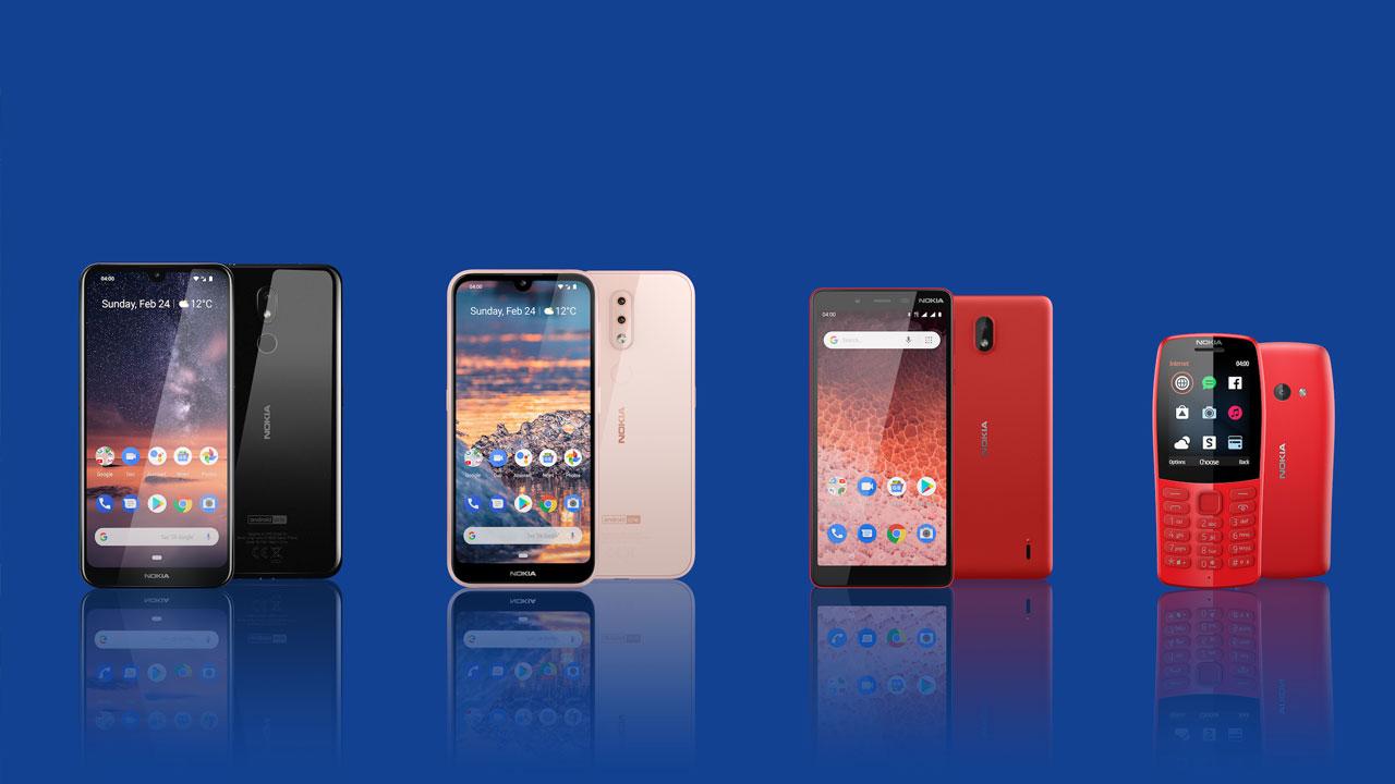 [MWC 2019] HMD Global ra mắt liền 4 smartphone Nokia 4.2, Nokia 3.2, Nokia 1 Plus và Nokia 210