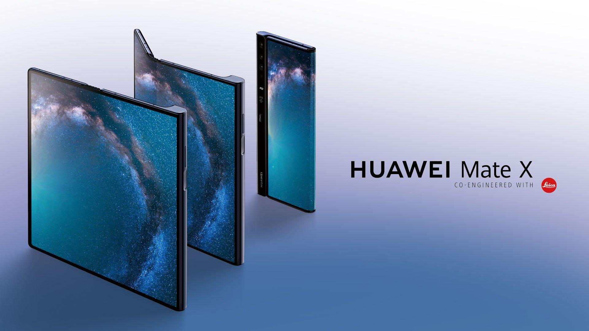 [MWC 2019] Huawei Mate X ra mắt: màn hình gập 8-inch, sạc nhanh hơn iPhone XS Max 600%, giá 60 triệu