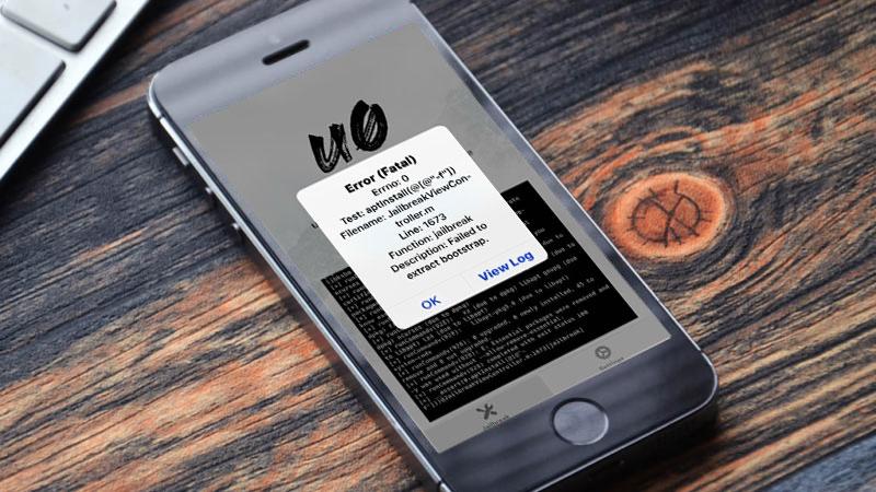 Hướng dẫn khắc phục các lỗi có thường gặp phải khi jailbreak iOS 12 bằng unc0ver
