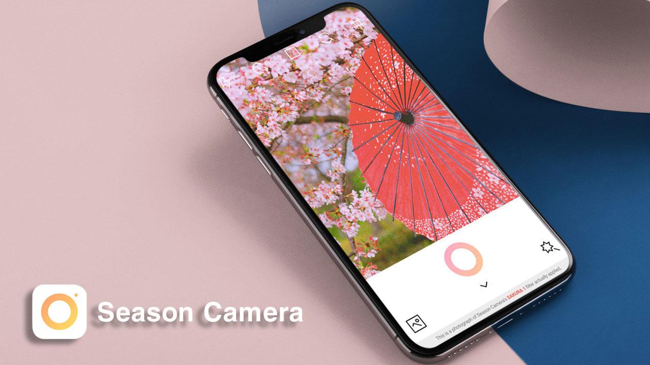 Hướng dẫn tải về miễn phí bộ ứng dụng Season Camera dành cho iPhone