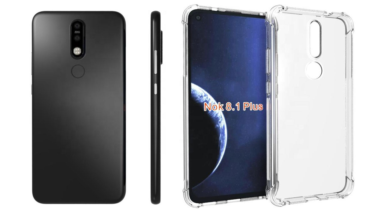 Nokia 8.1 Plus lộ hình ảnh thiết kế với màn hình nốt ruồi thông qua nhà sản xuất phụ kiện
