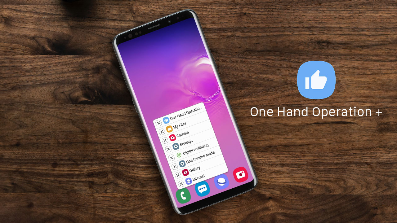 Ứng dụng điều hướng bằng cử chỉ Samsung One Hand Operation chính thức có mặt trên Google Play Store