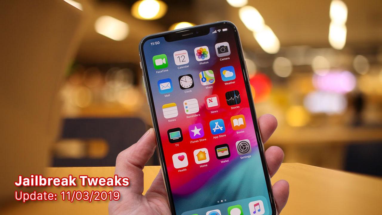 [11/03/2019] Tổng hợp một số tweak mới phát hành trong thời gian gần đây, dành cho thiết bị iOS đã jailbreak
