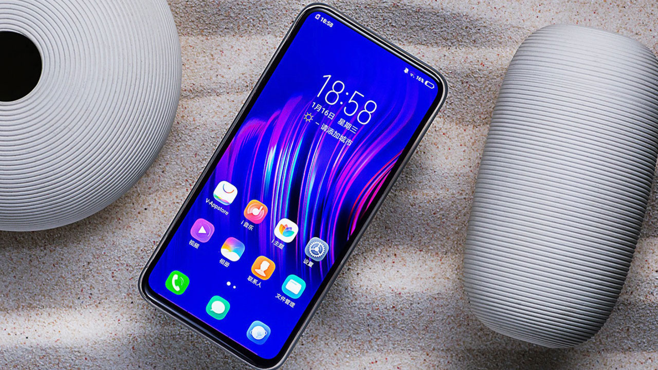 Cận cảnh Vivo APEX 2019: Smartphone không cổng sạc, không nút bấm với cảm biến vân tay toàn màn hình, chạm vào đâu cũng có thể mở khóa