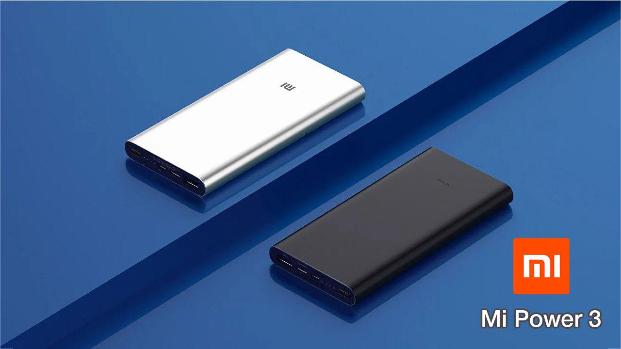 Xiaomi ra mắt Mi Power 3 hỗ trợ sạc nhanh 2 chiều 18W, dung lượng 10.000mAh, USB Type-C, giá 450.000 VNĐ