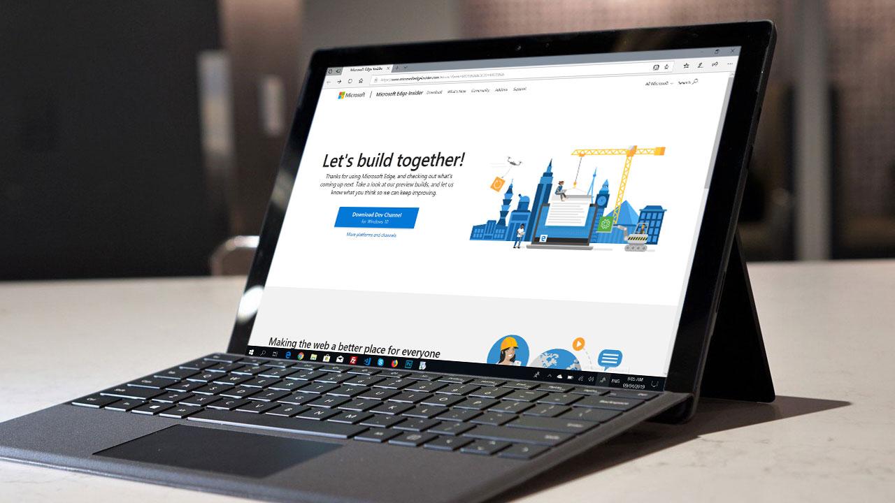 Microsoft gửi thư mời tham gia dùng thử trình duyệt Edge nhân Chromium