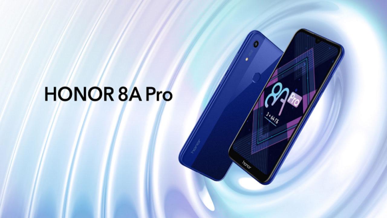 Honor 8A Pro ra mắt với Chip Helio P35, 3GB RAM, giá 5 triệu đồng