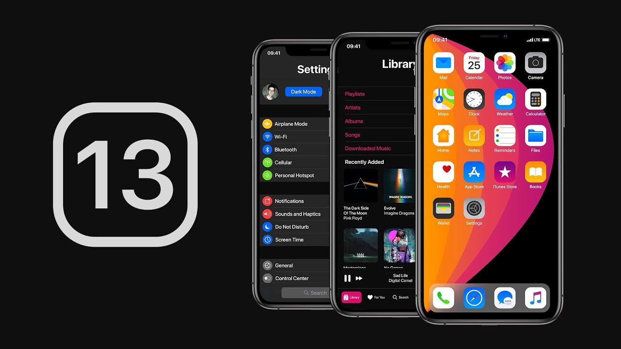 iOS 13 sẽ có chế độ Dark Mode, đa nhiệm cửa sổ trên iPad, giao diện điều chỉnh volume mới?