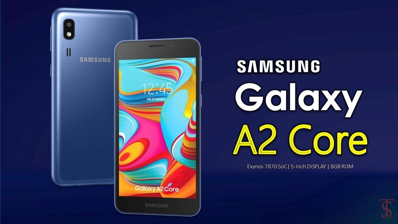 Samsung ra mắt Galaxy A2 Core smartphone chạy Android Go, giá 1.7 triệu đồng
