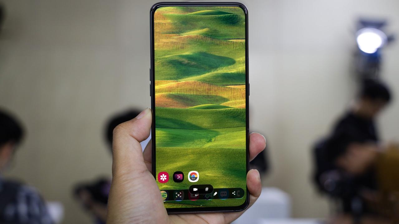 Chia sẻ ứng dụng quay video màn hình điện thoại chính chủ của Samsung, mời anh em tải về!