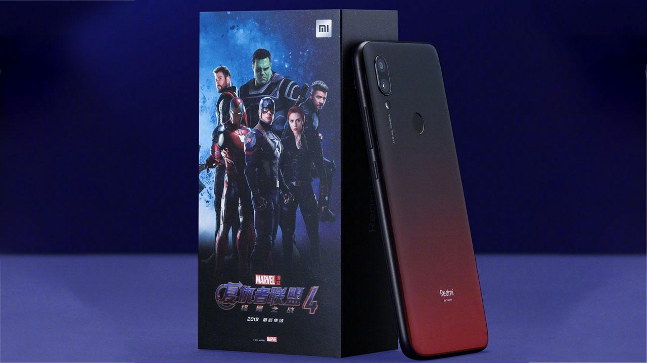 Xiaomi ra mắt bộ đôi Redmi Note 7 và Redmi 7 phiên bản Avengers