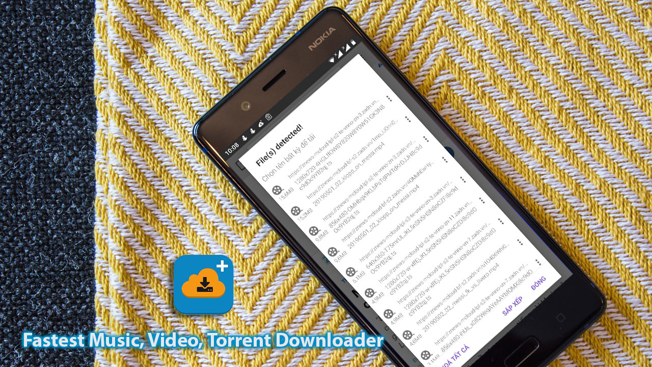 IDM+: Ứng dụng hỗ trợ download file hàng đầu trên Android