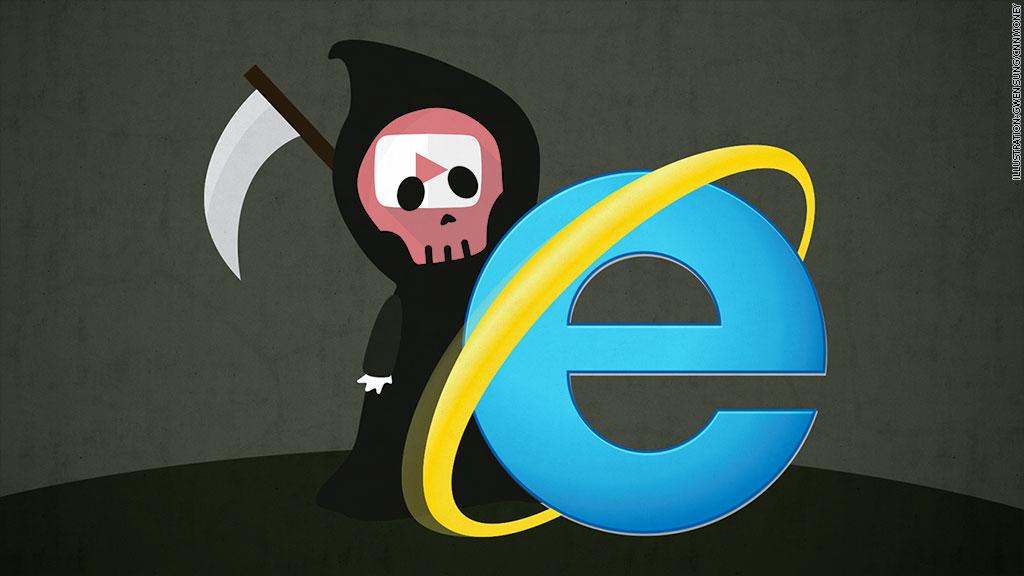 YouTube đã âm mưu sát hại Internet Explorer 6 như thế nào?
