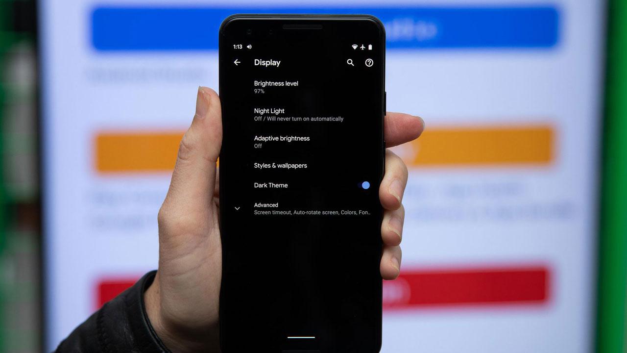 Chế độ Dark Theme trên Android Q sẽ mang đến màu đen cực sâu, đen hơn cả tập 3 Game of Thrones