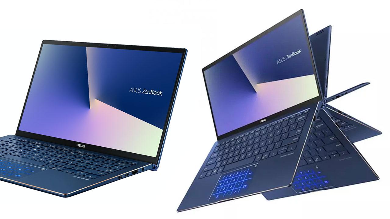 ASUS trình làng mẫu laptop gập xoay ZenBook Flip 13 UX362 nhỏ gọn nhất thế giới