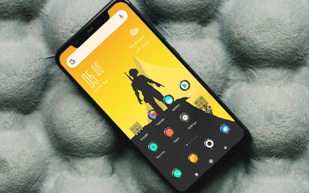 PubG V10: Bộ theme cực đẹp về chủ đề game PUBG Mobile cho smartphone Xiaomi
