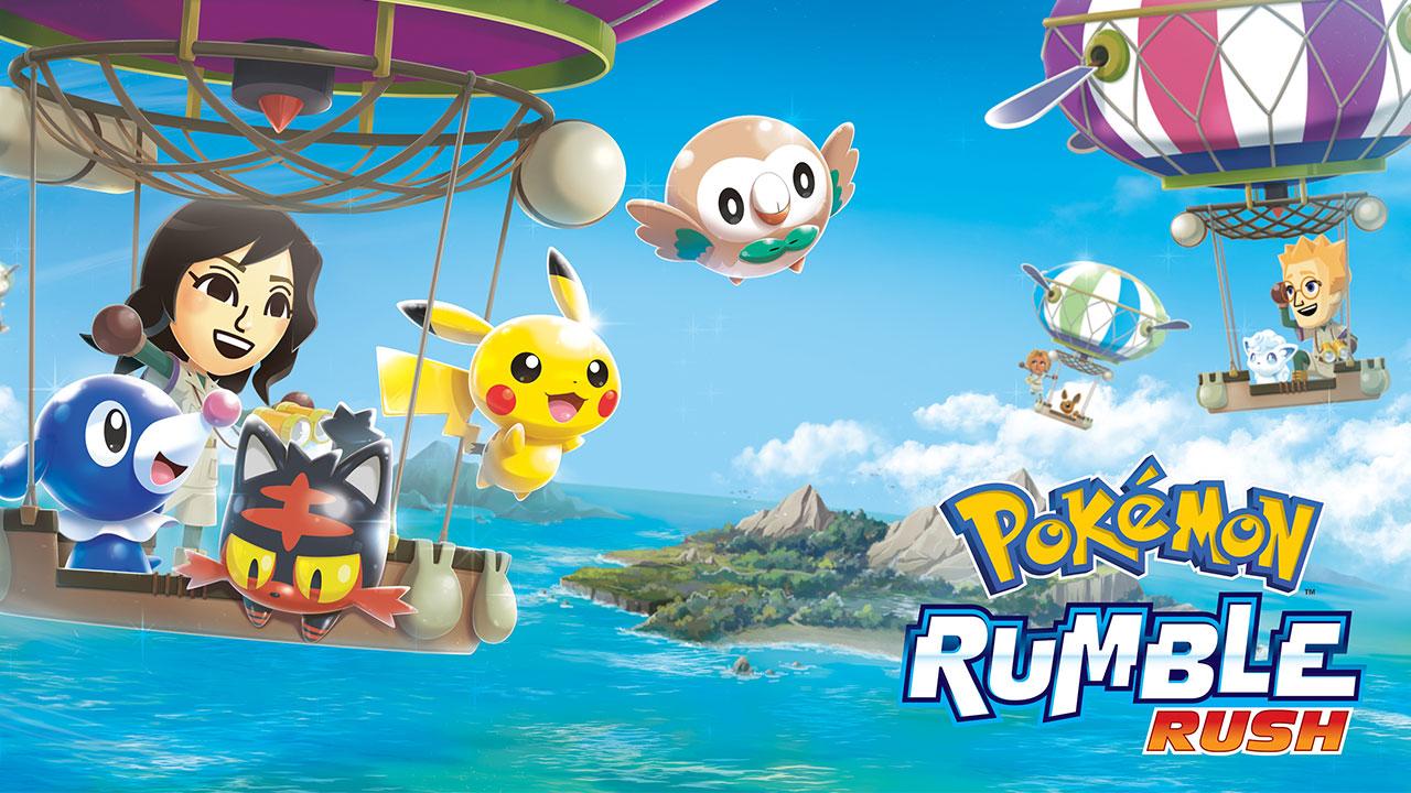 Chia sẻ file APK game Pokémon Rumble Rush vừa mới ra mắt trên Android, mời anh em trải nghiệm