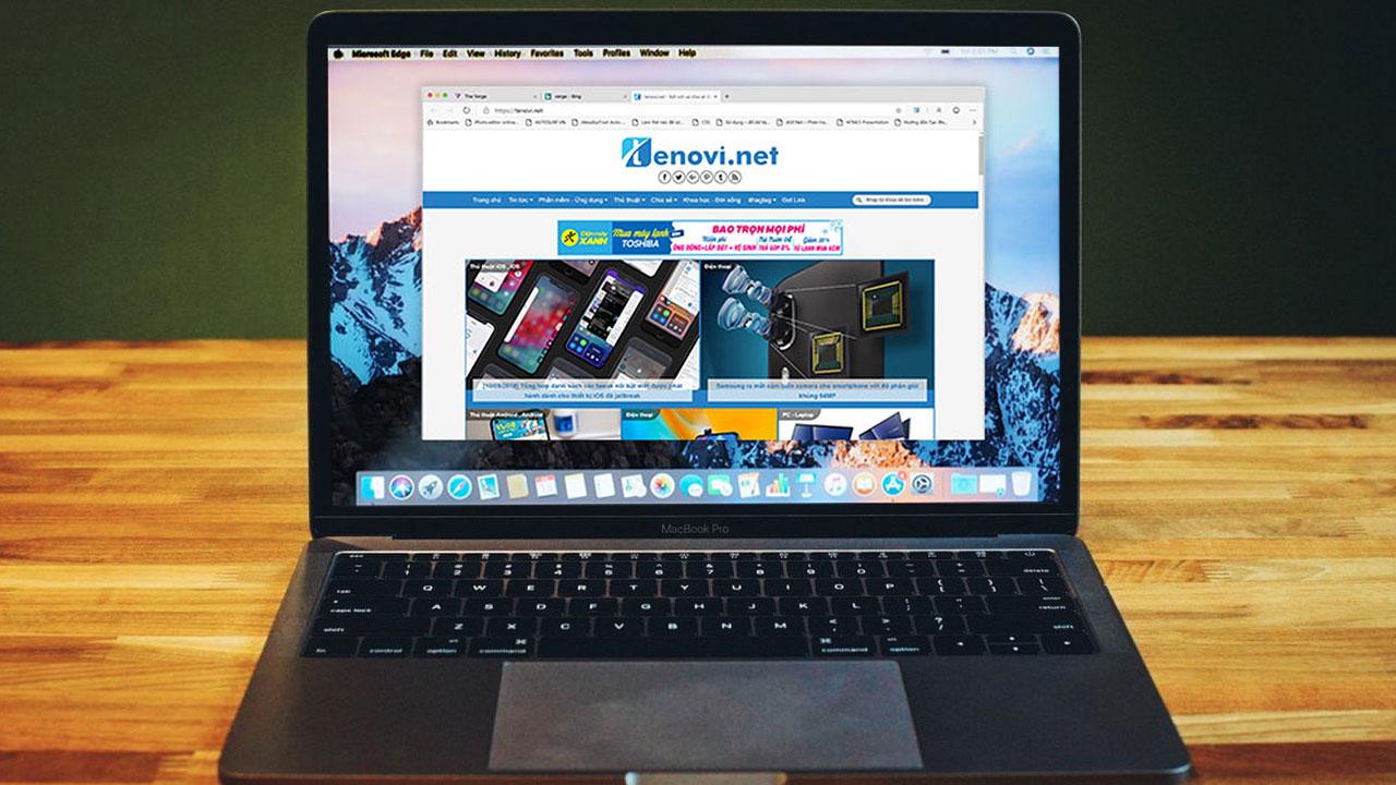 Microsoft chính thức phát hành trình duyệt Edge Chromium cho người dùng macOS