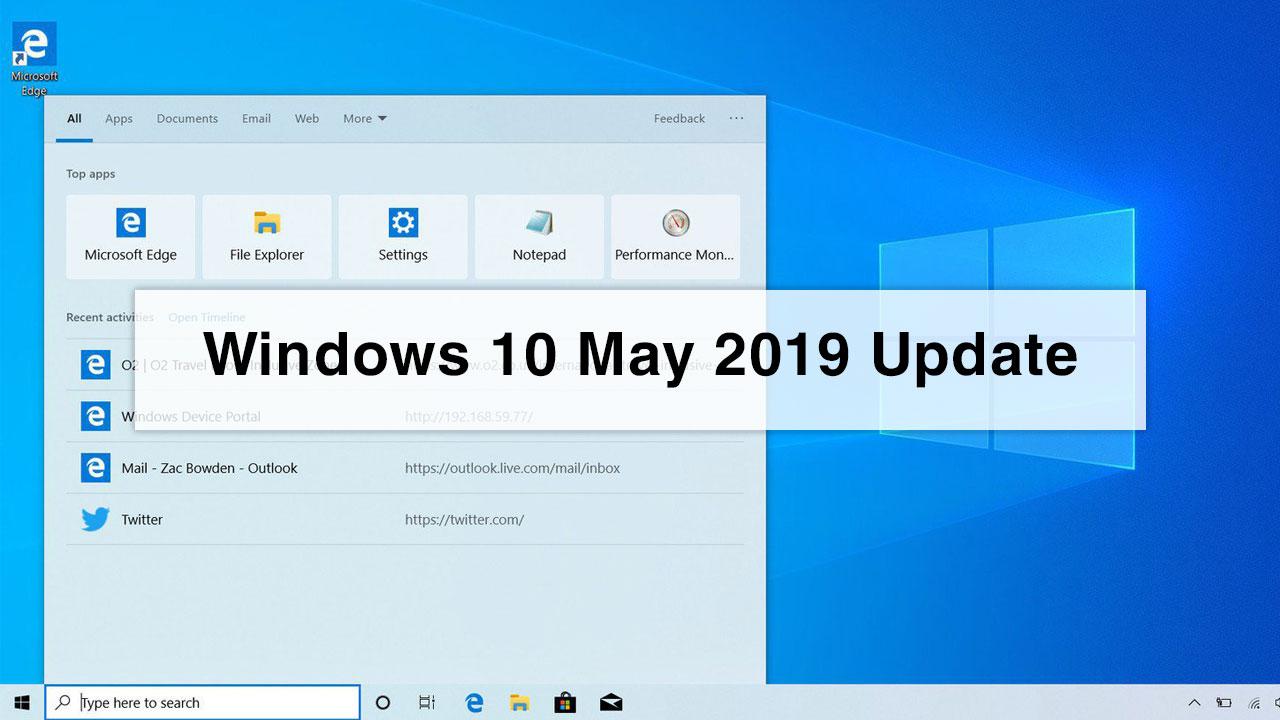 Chia sẻ file ISO Windows 10 MAY 2019 (1903), bản cập nhật mới ra mắt của Microsoft
