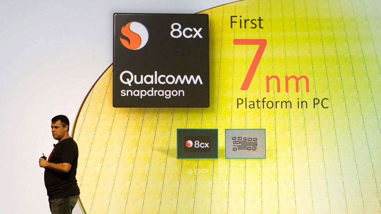 Qualcomm 8cx: Chip máy tính sử dụng kiến trúc ARM có điểm hiệu năng mạnh hơn cả Intel i5 8250U, thời lượng pin cao gấp đôi, hỗ trợ 5G