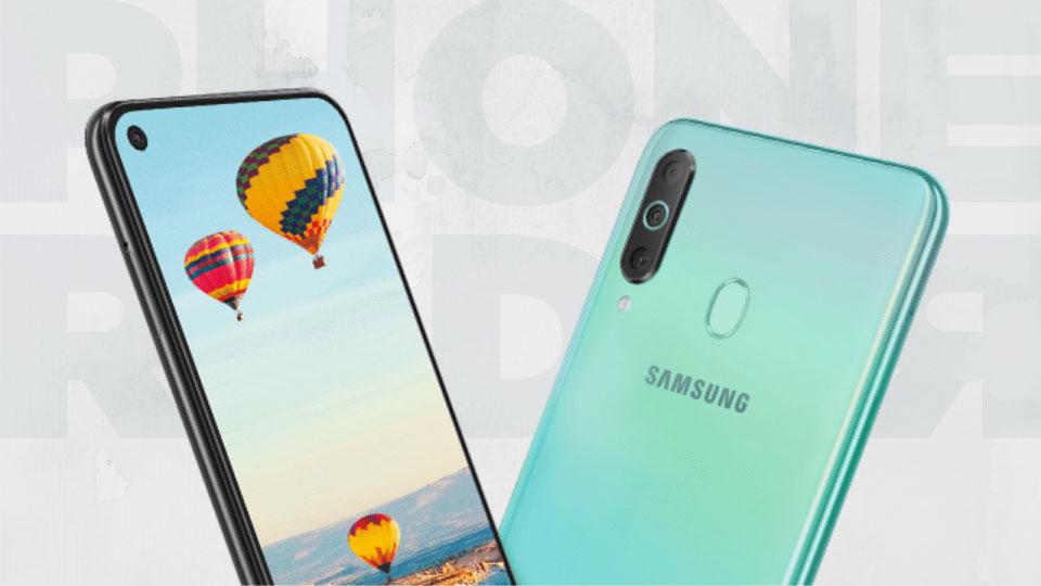 Samsung Galaxy M40 lộ thiết kế với màn hình Infinity-O, cảm biến vân tay ở mặt lưng và cụm 3 camera sau