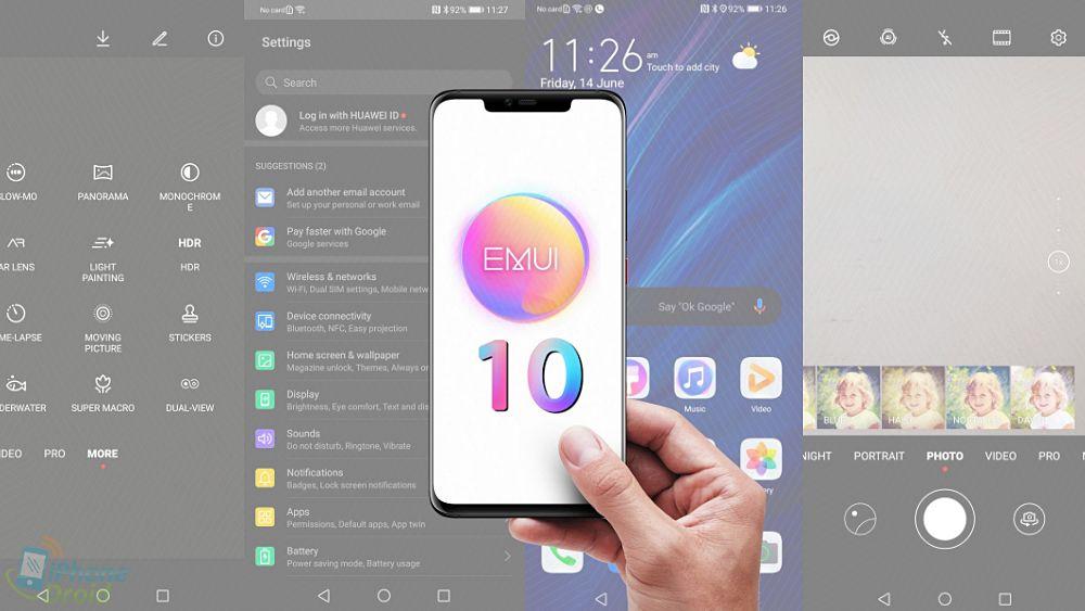 Lộ diện những hình ảnh đầu tiên của EMUI 10 được tùy biến từ Android Q