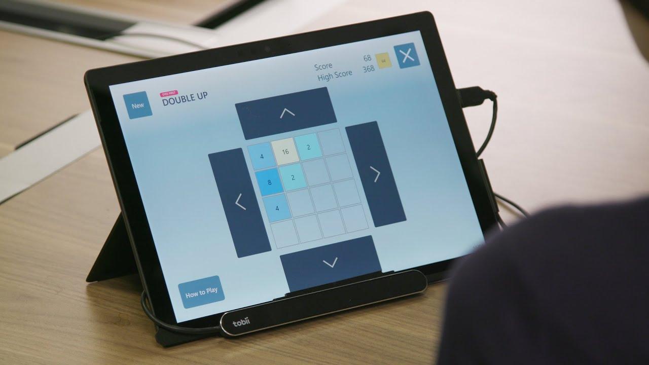 Microsoft phát hành miễn phí 4 tựa game cho Windows 10 được phát triển riêng để chơi với các hệ thống theo dõi bằng mắt.