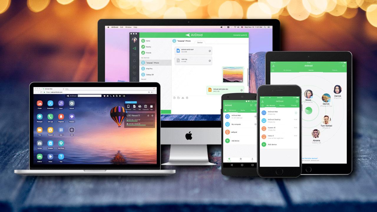 Chia sẻ một số ứng dụng đa nền tảng trợ quản lý tập tin, nhận thông báo, trả lời tin nhắn, điều khiển smartphone từ xa