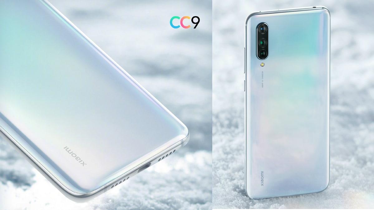 Xiaomi Mi CC9 màu trắng ngọc trai lộ hình ảnh cận cảnh trước ngày ra mắt
