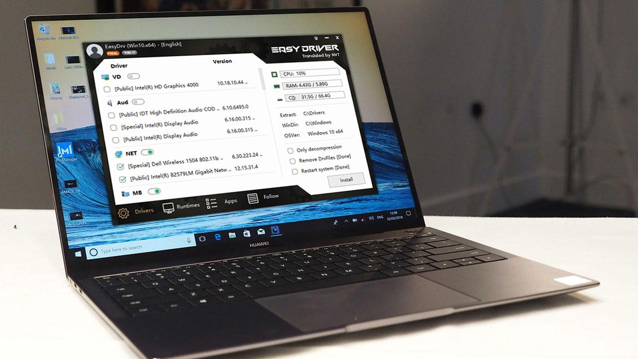 WanDriver 7: công cụ hỗ trợ cài đặt driver tự động trên Windows, không cần kết nối Internet