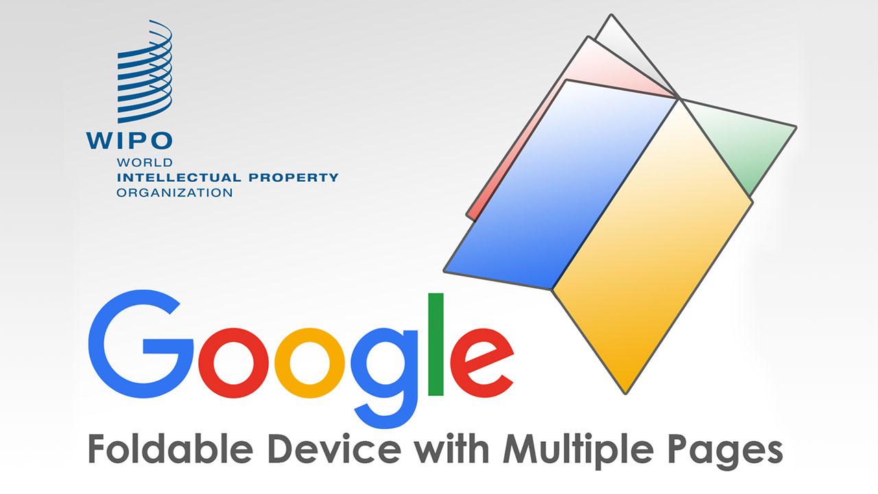 Google lộ bằng sáng chế về một thiết bị màn hình gập kỳ dị, với nhiều trang màn hình y như quyển sổ