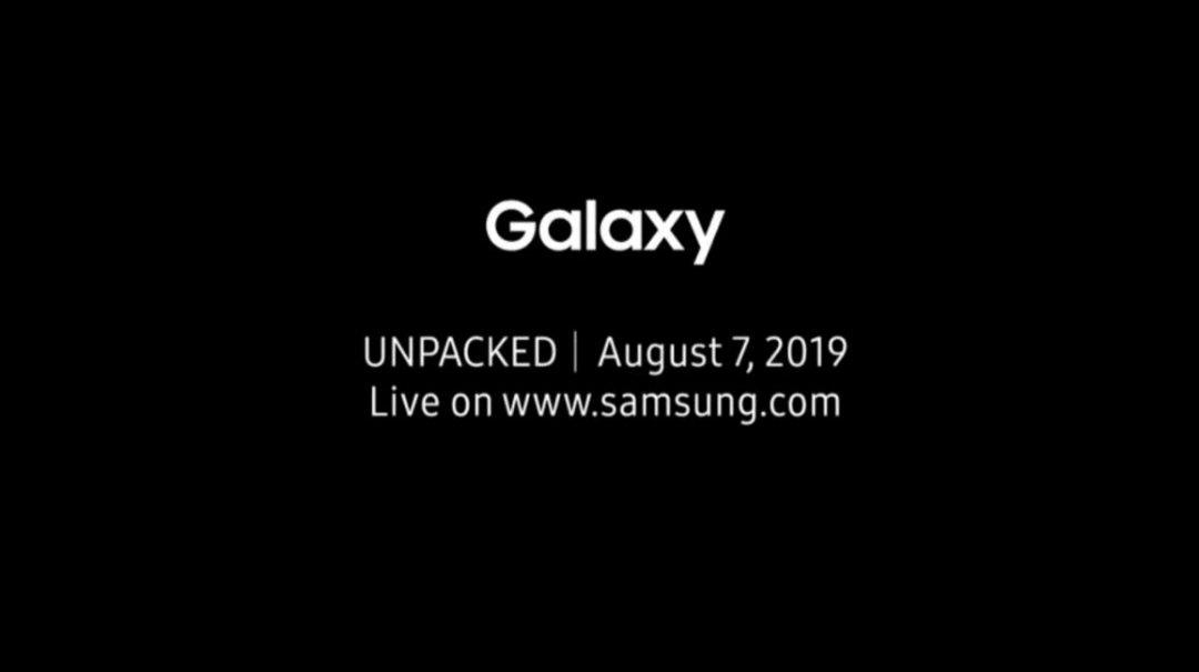 Samsung chính thức gửi thư mời sự kiện ra mắt Galaxy Note 10 ngày 7/8, xác nhận camera đục lỗ