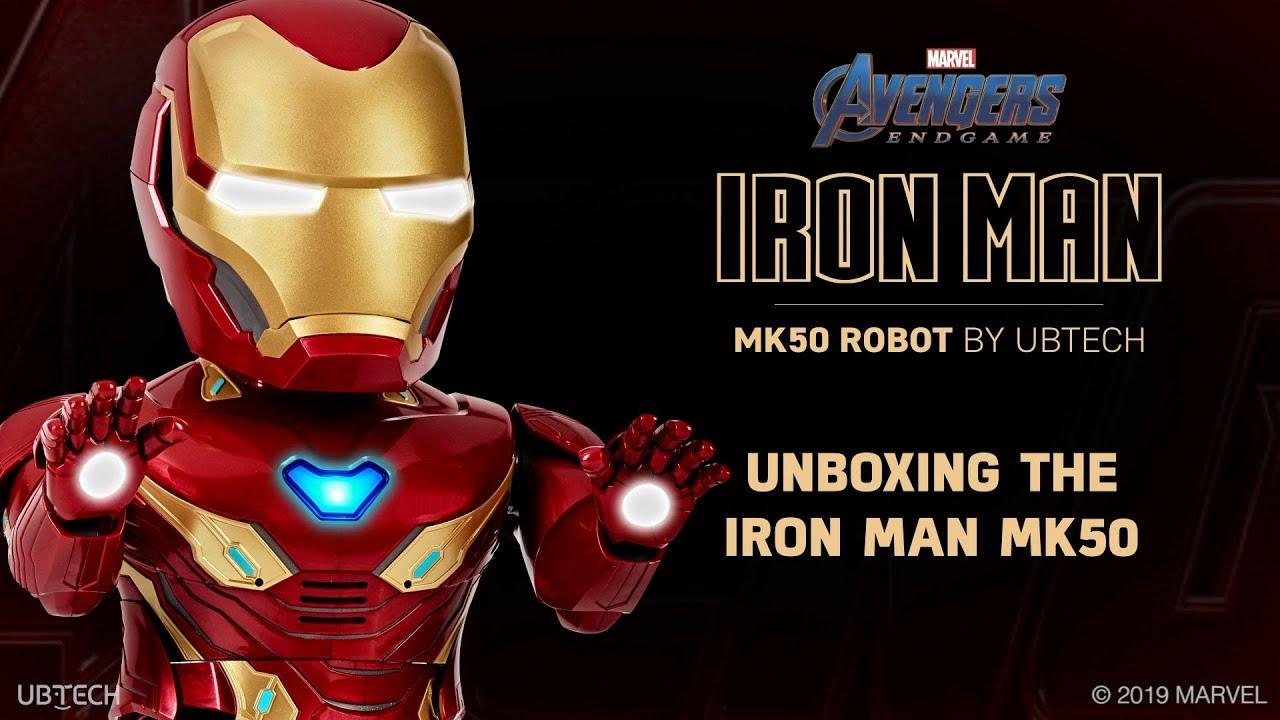 Xiaomi ra mắt robot Iron Man MARK50, đi kèm tựa game thực tế ảo tăng cường (AR)
