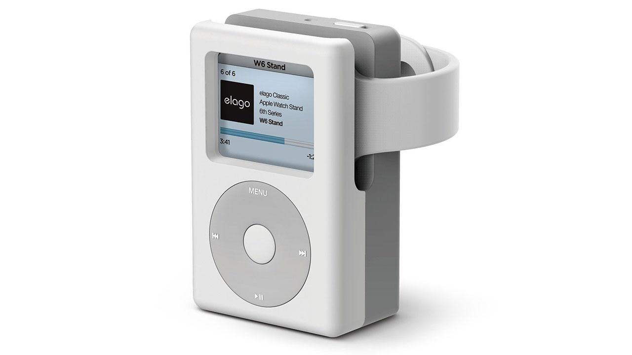 Elago W6: giá đỡ biến chiếc Apple Watch trong như 1 chiếc iPod thực thụ
