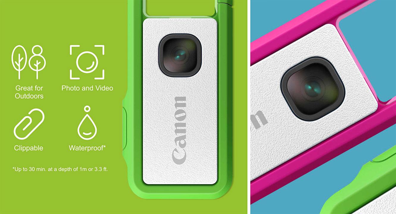 Canon gây quỹ cộng đồng cho máy ảnh có kích thước chỉ bằng chiếc USB, cảm biến 13MP