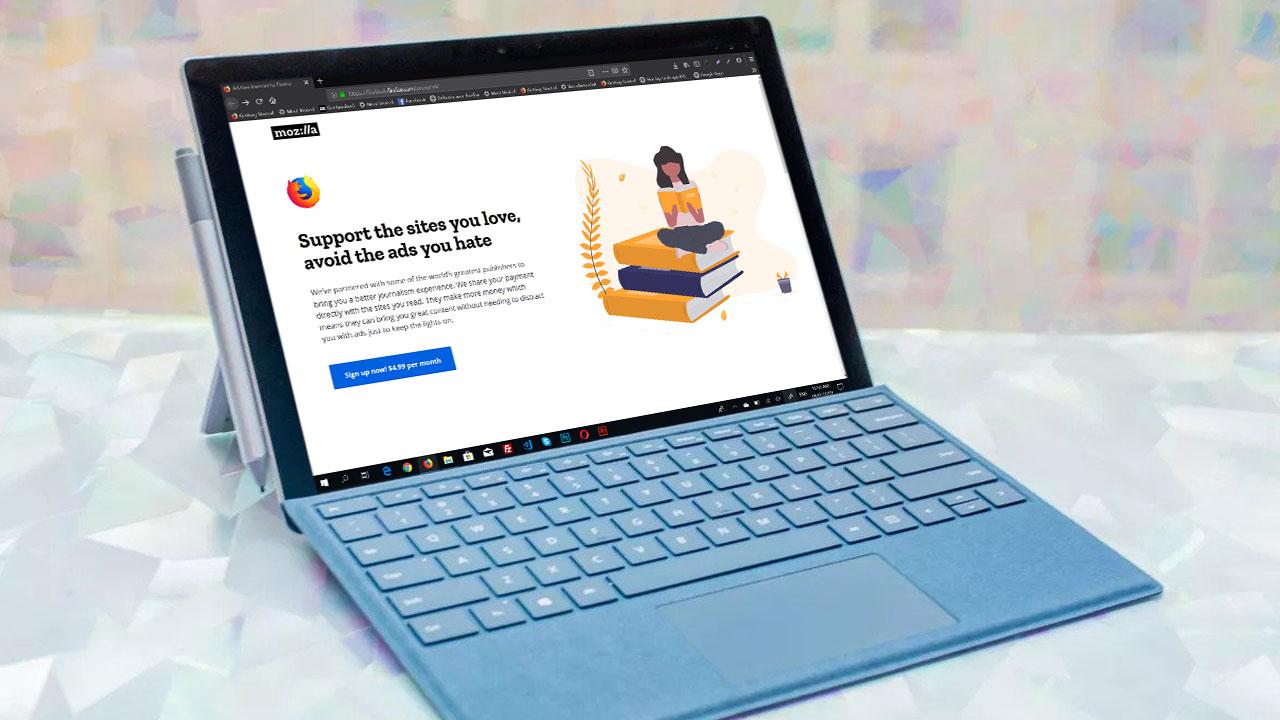 Mozilla sắp ra mắt dịch vụ lướt web không quảng cáo, với mức giá 5 USD/tháng