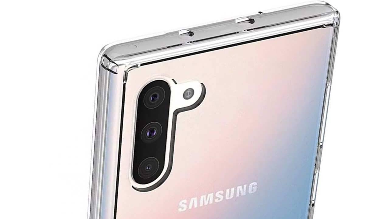 Lộ miếng dán bảo vệ màn hình của Samsung Galaxy Note 10 và Note 10 Pro